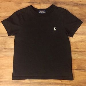 Boy's Black Polo T-Shirt